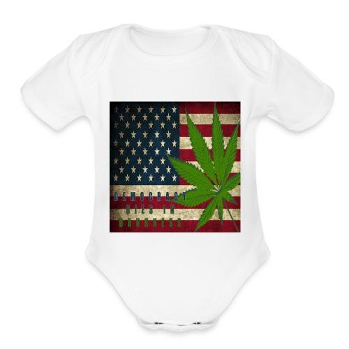 Political humor - Organic Short Sleeve Baby Bodysuit