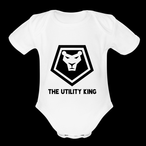 The Utility King - Organic Short Sleeve Baby Bodysuit