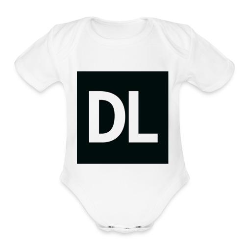 DL shirt - Organic Short Sleeve Baby Bodysuit