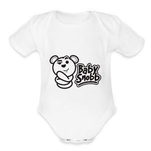 babysnobb - Short Sleeve Baby Bodysuit