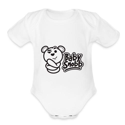 babysnobb - Organic Short Sleeve Baby Bodysuit