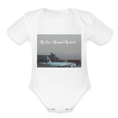 AC - Organic Short Sleeve Baby Bodysuit