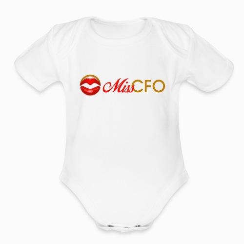 MissCFO Tee - Organic Short Sleeve Baby Bodysuit