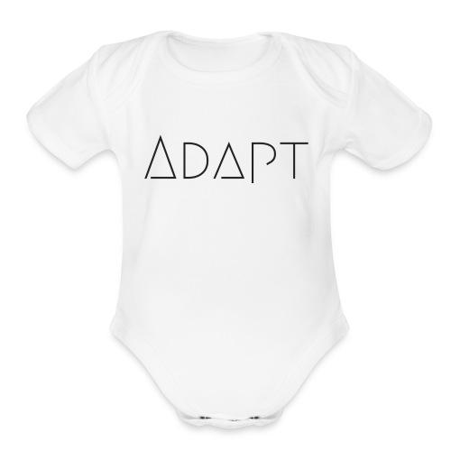 Adapt Merch - Organic Short Sleeve Baby Bodysuit