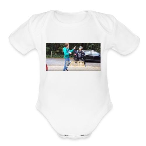 DTB Highfive - Organic Short Sleeve Baby Bodysuit