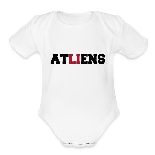 ATLIENS - Organic Short Sleeve Baby Bodysuit