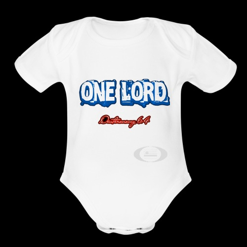One Lord - Organic Short Sleeve Baby Bodysuit