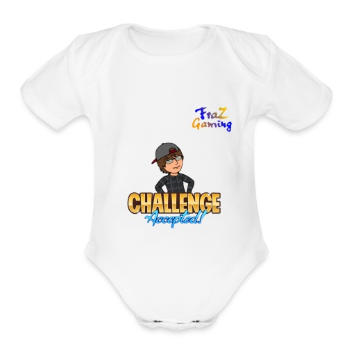 FrazGaming - Organic Short Sleeve Baby Bodysuit