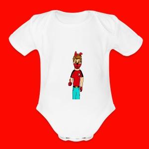 Like It KingRedDogChris - Short Sleeve Baby Bodysuit