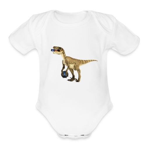 amraptor - Organic Short Sleeve Baby Bodysuit