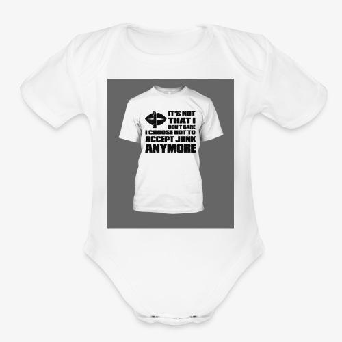 junk - Organic Short Sleeve Baby Bodysuit