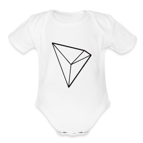 Tronix Cryptocurrency of the future - Organic Short Sleeve Baby Bodysuit