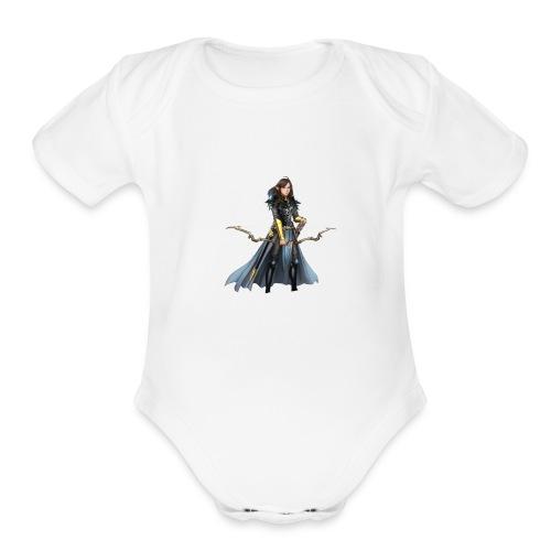 The Elf Kiletra - Organic Short Sleeve Baby Bodysuit