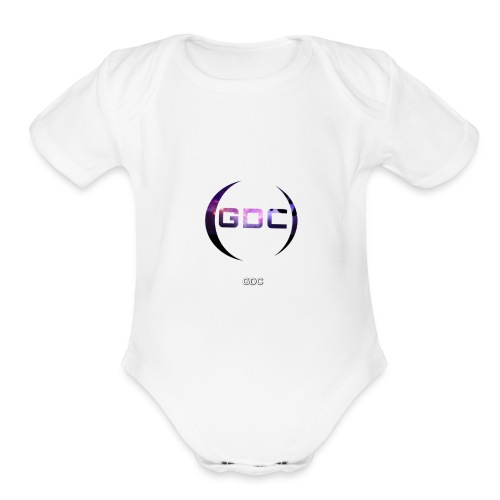 GDC Productions - Organic Short Sleeve Baby Bodysuit