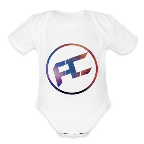 Aleconfi - Organic Short Sleeve Baby Bodysuit