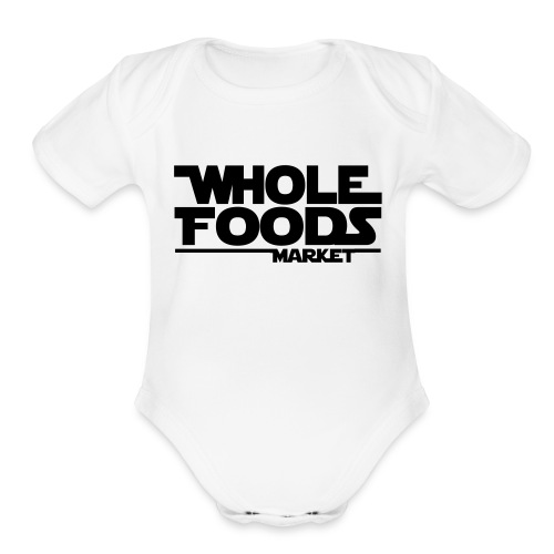 WHOLE_FOODS_STAR_WARS - Organic Short Sleeve Baby Bodysuit