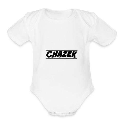 Chazek - Organic Short Sleeve Baby Bodysuit