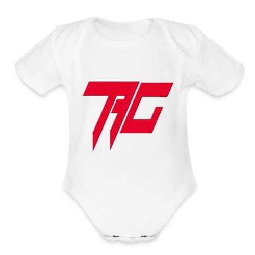 Tag Logo - Organic Short Sleeve Baby Bodysuit