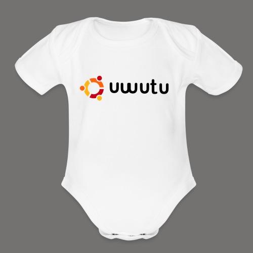 UWUTU - Organic Short Sleeve Baby Bodysuit