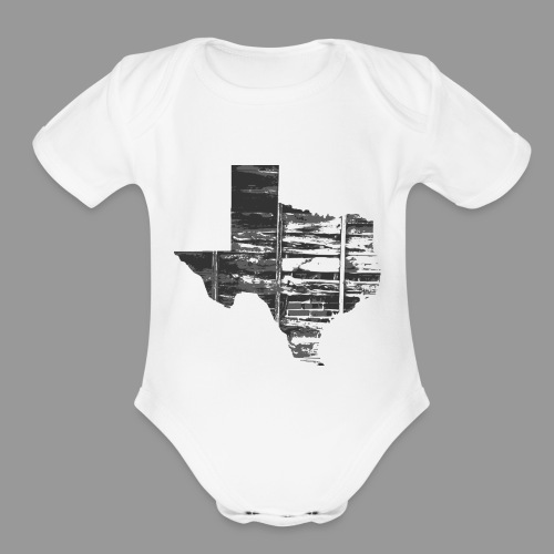 Real Texas - Organic Short Sleeve Baby Bodysuit