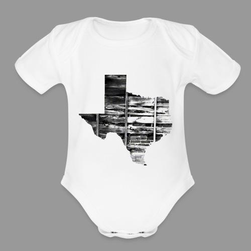 Real Texas - Organic Short Sleeve Baby Bodysuit