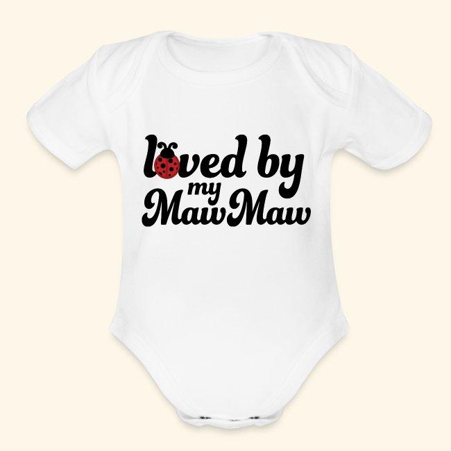 My Godmother in Massachusetts Loves Me Toddler//Kids Short Sleeve T-Shirt