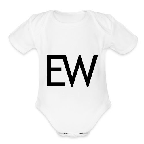 EDM Weekly - Organic Short Sleeve Baby Bodysuit