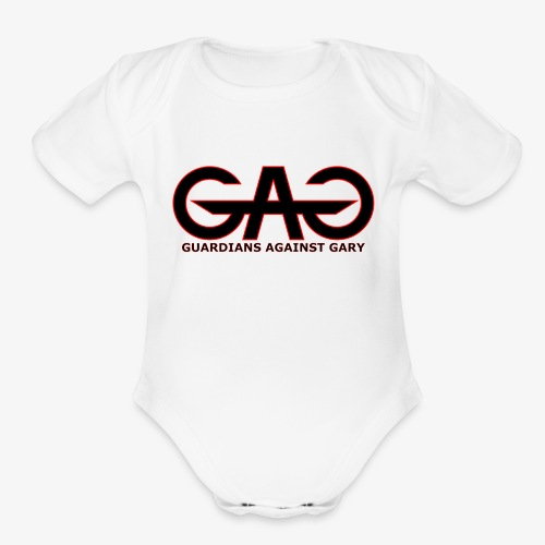 GAG3 2 - Organic Short Sleeve Baby Bodysuit