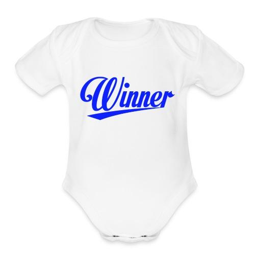 im a Winner - Organic Short Sleeve Baby Bodysuit