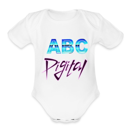 ABCDigital - Organic Short Sleeve Baby Bodysuit