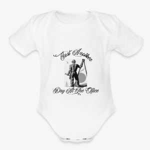Just Another Day At the Office Ironworker - Short Sleeve Baby Bodysuit