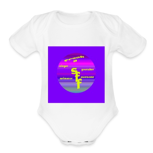 FRESH G APPAREL - Organic Short Sleeve Baby Bodysuit
