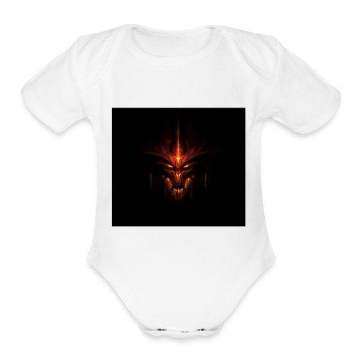Diablo - Organic Short Sleeve Baby Bodysuit