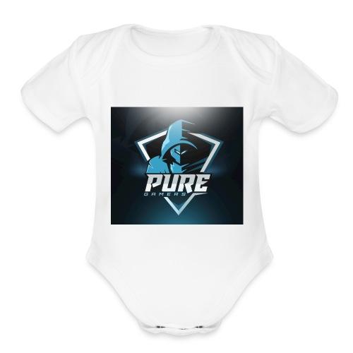 FsMz PuRe T-shrit - Organic Short Sleeve Baby Bodysuit