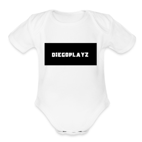 DIEGOPLAYZ - Organic Short Sleeve Baby Bodysuit