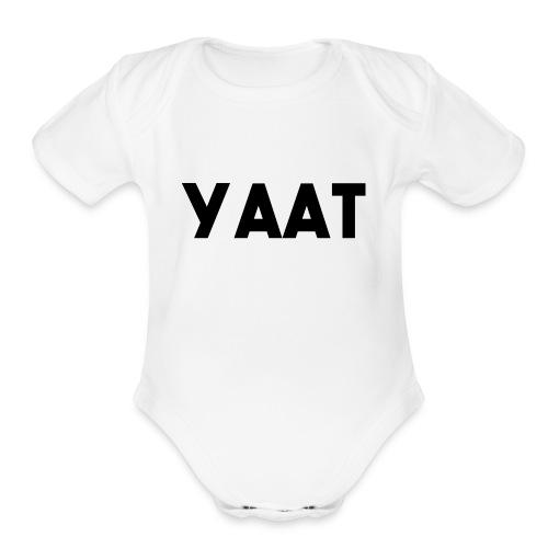 ICEshock YAAT - Organic Short Sleeve Baby Bodysuit