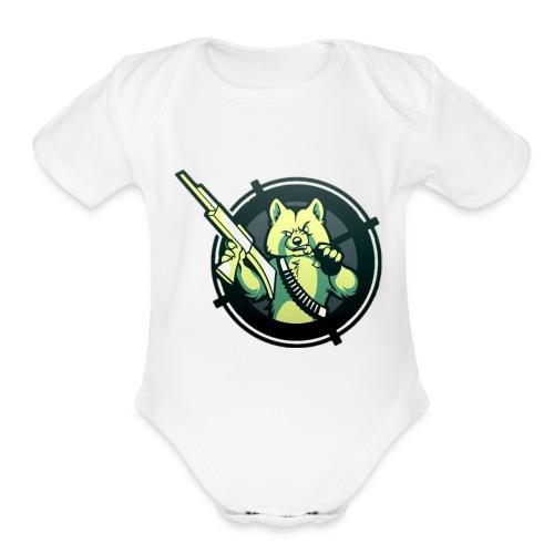 hartor70 - Organic Short Sleeve Baby Bodysuit