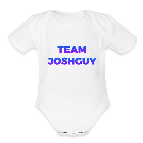 Team JoshGuy - Organic Short Sleeve Baby Bodysuit