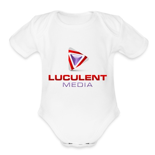 Luculent Media Swag - Organic Short Sleeve Baby Bodysuit