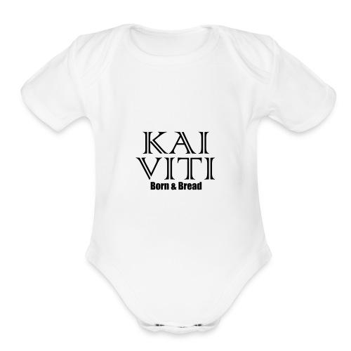Kai Viti Born Bread - Organic Short Sleeve Baby Bodysuit