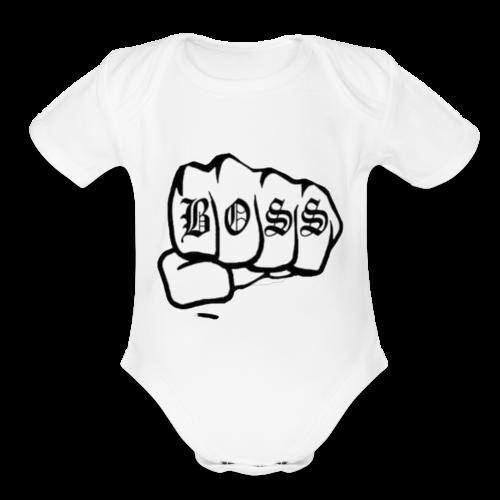 1513099885907 - Organic Short Sleeve Baby Bodysuit