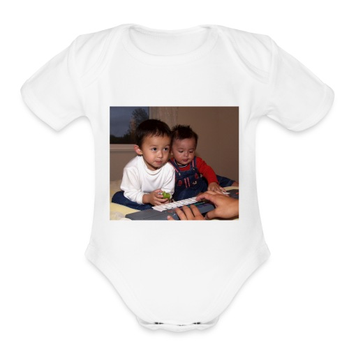 413502 3609601112345 1284731837 o - Organic Short Sleeve Baby Bodysuit