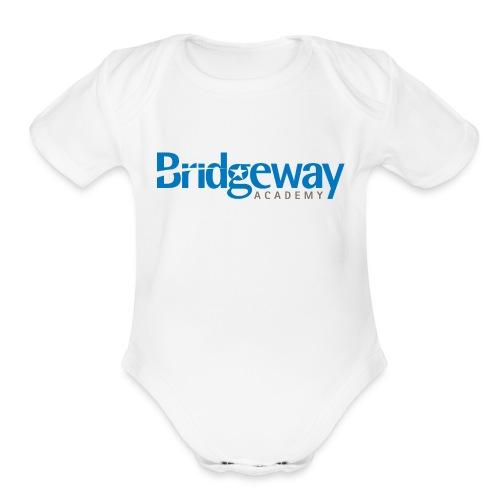 Bridgeway_logo - Organic Short Sleeve Baby Bodysuit