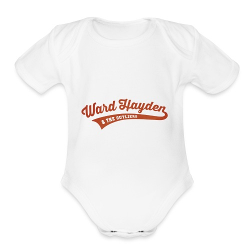 Ward Hayden & The Outliers Logo - Organic Short Sleeve Baby Bodysuit