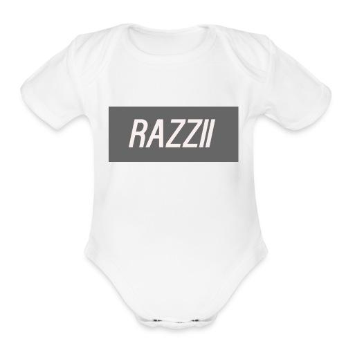 RAZZII - Organic Short Sleeve Baby Bodysuit