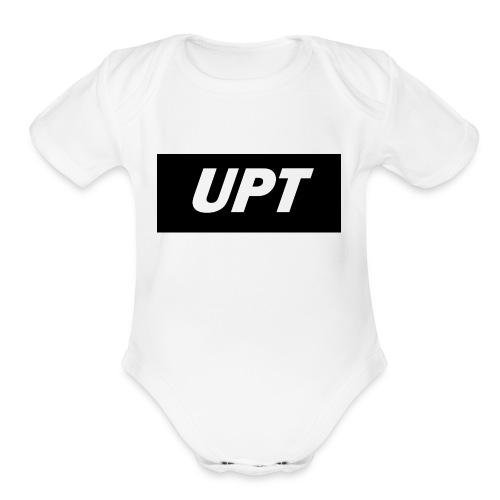 UPt_custom_2 - Organic Short Sleeve Baby Bodysuit