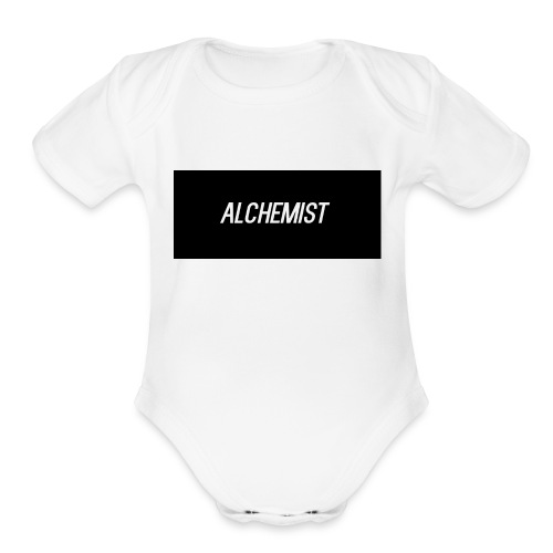 alchemist - Organic Short Sleeve Baby Bodysuit
