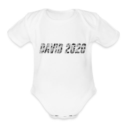 Grey 2020 - Organic Short Sleeve Baby Bodysuit