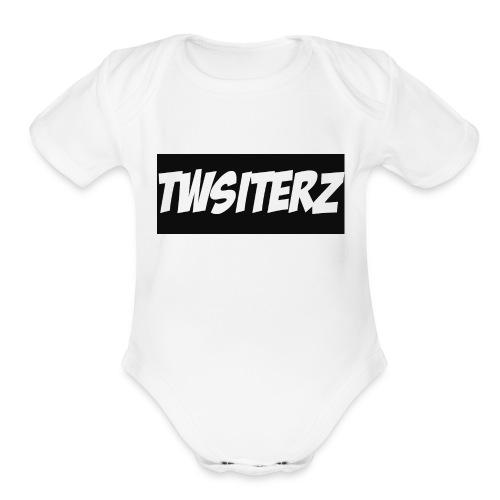 Twisterzz Stores - Organic Short Sleeve Baby Bodysuit