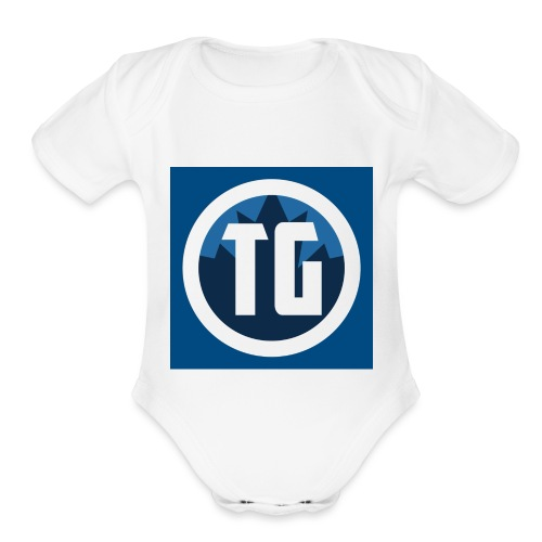 Typical gamer - Organic Short Sleeve Baby Bodysuit